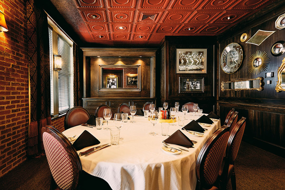 Private Dining St. Elmo Steak House
